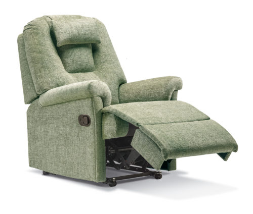 Milburn Small Fabric Recliner