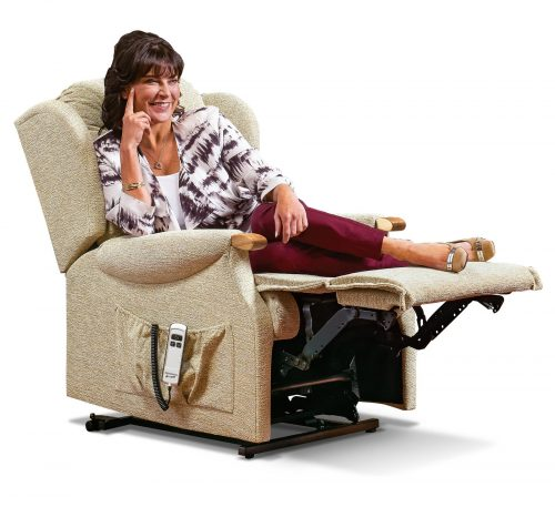 Lynton Knuckle Small Fabric 'Lift & Rise' Recliner