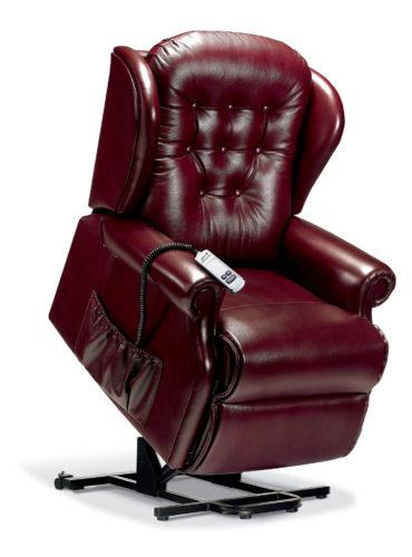 Lynton Standard Leather 'Lift & Rise' Recliner