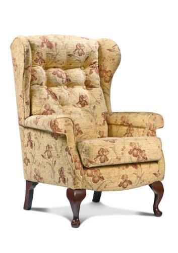 Brompton Fabric Low Seat Chair