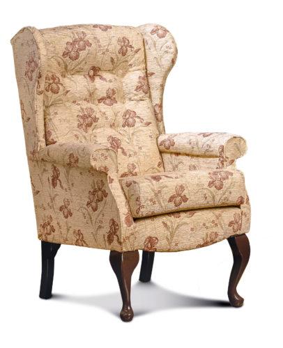 Brompton Fabric High Seat Chair