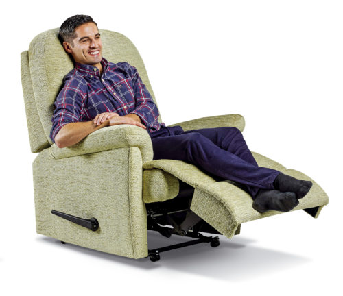 Keswick Royale Fabric Recliner