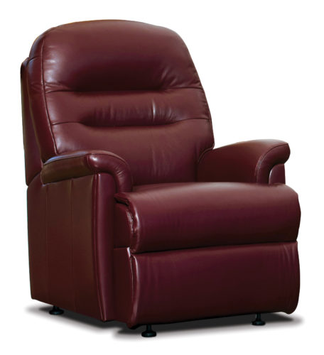 Keswick Small Leather Fixed Chair