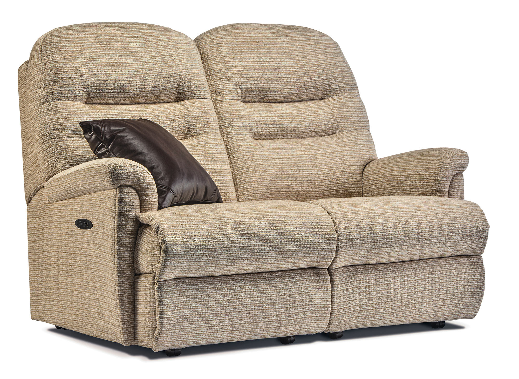Keswick Petite Fabric Reclining 2 Seater Settee Sherborne