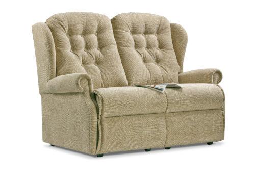Lynton Small Fabric Fixed 2-Seater Settee