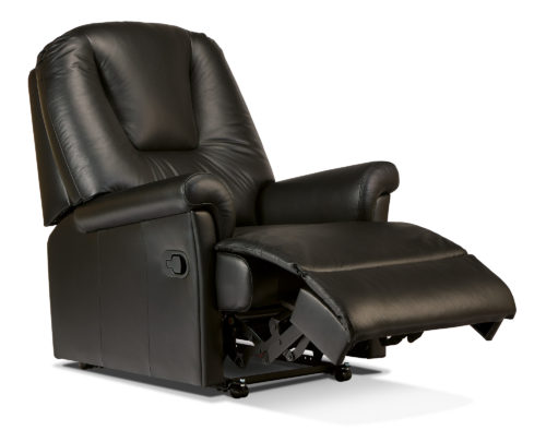 Milburn Petite Leather Recliner