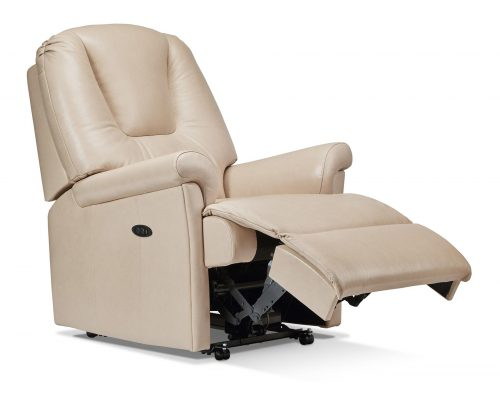 Milburn Small Leather Recliner