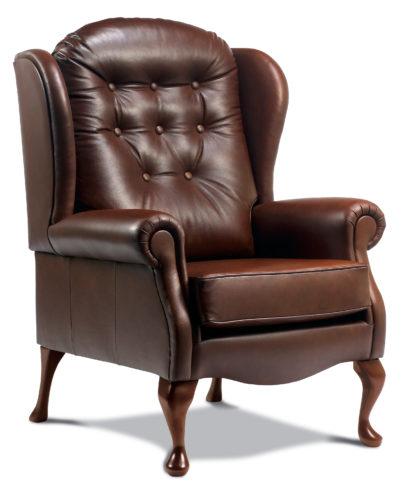 Lynton Standard Leather High Seat Chair