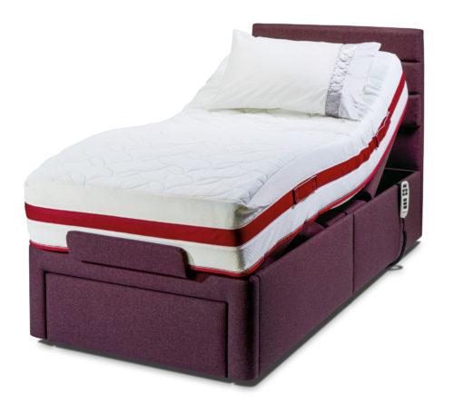 Adjustable Beds In Leeds : Regency head and foot adjustable bed shown with