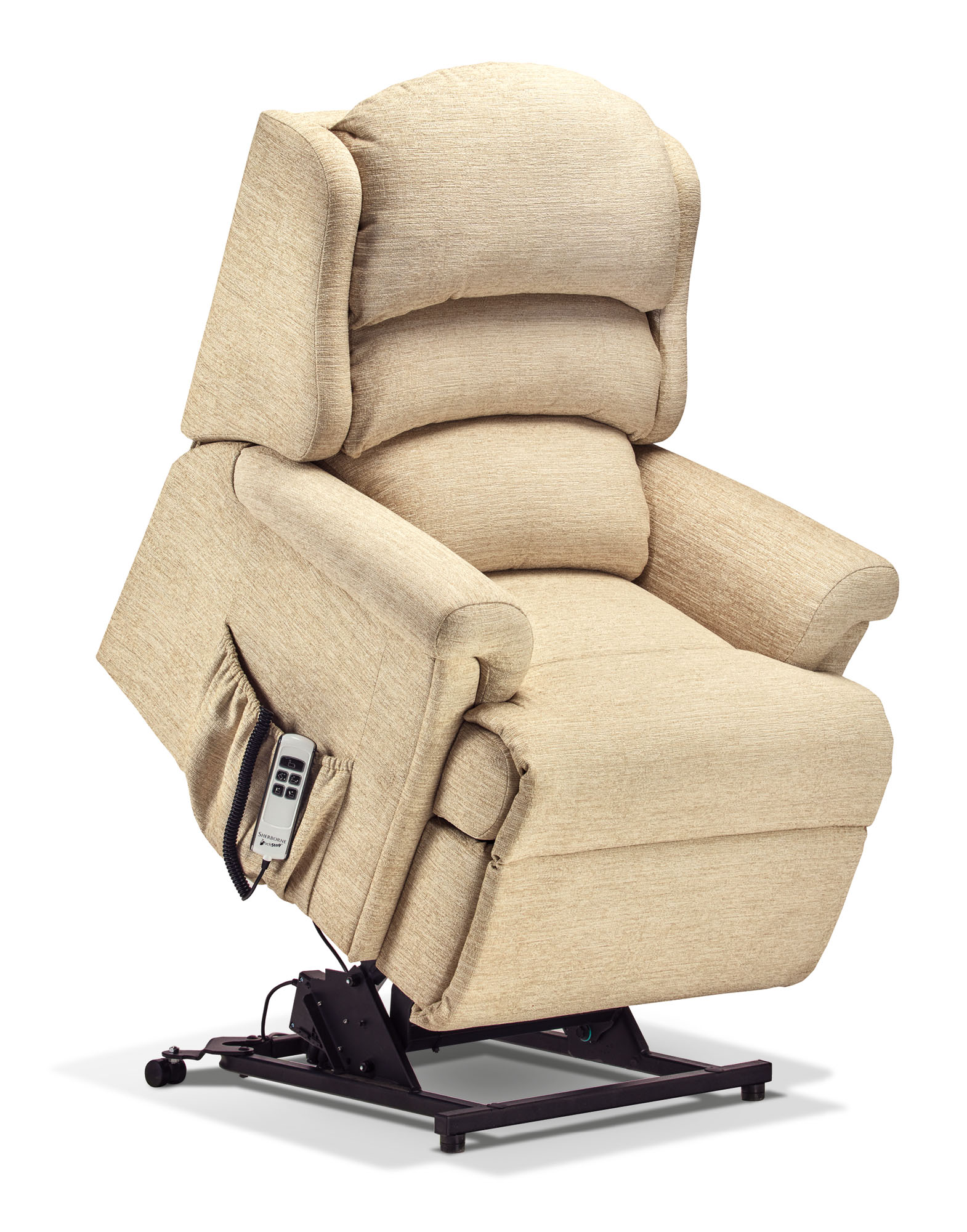 Albany Petite Fabric Electric Riser Recliner Sherborne